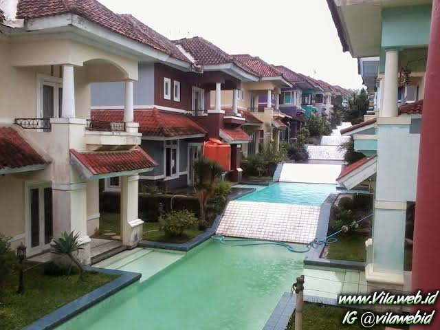 Villa di Puncak Private Pool Unik dan Murah